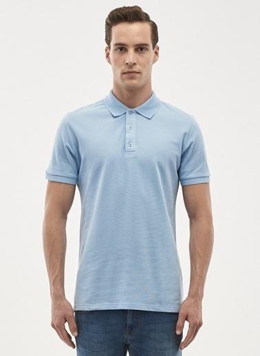 Altınyıldız Classics Polo Yaka Tişört Mavi